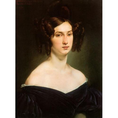 Portrait of countess luigia douglas scotti d adda 1830