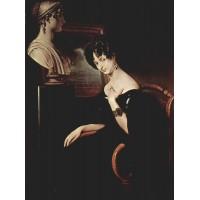 Portrait of cristina di belgiojoso trivulzio 1832