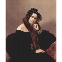 Portrait of felicina caglio perego di cremnago 1842