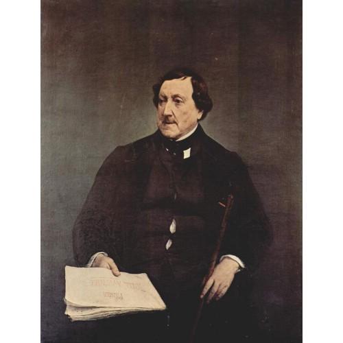 Portrait of gioacchino rossini 1870