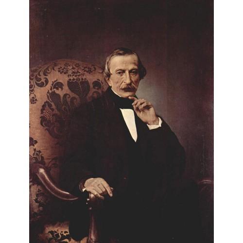 Portrait of massimo d azeglio 1860