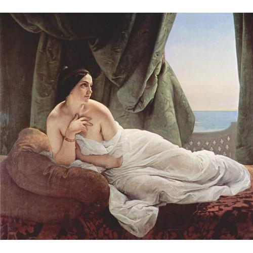 Reclining odalisque 1839