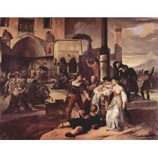 Sicilian evenings painting series scene 1