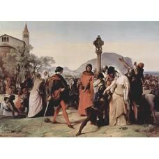 Sicilian evenings painting series scene 3 1846