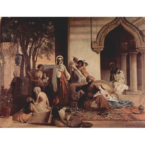 The new favorite harem scene 1866
