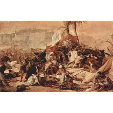 The seventh crusade against jerusalem