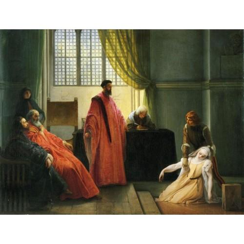 Valenza gradenigo before the inquisitor