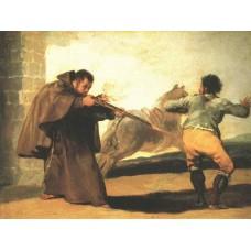 Monk Pedro de Zaldivia Shoots the Bantid Maragato