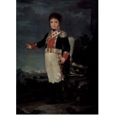Portrait of Don Sebastian Gabriel de Borbon