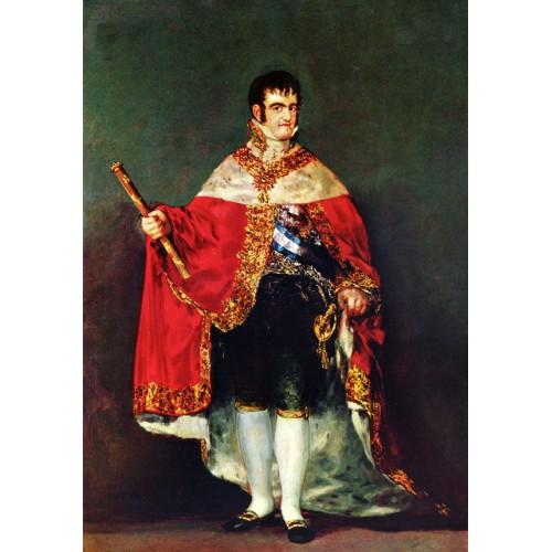 Portrait of Ferdinando VIII