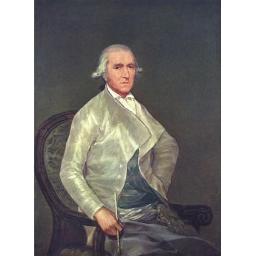 Portrait of Francisco Bayeu