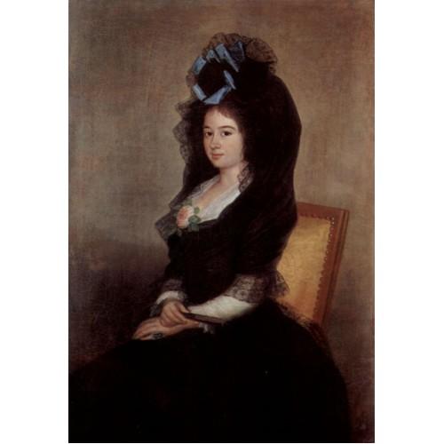 Portrait of Narcisa Baranana de Goicoechea