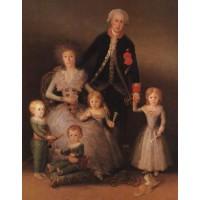 The Duke and Duchess of Osuna and Their Children