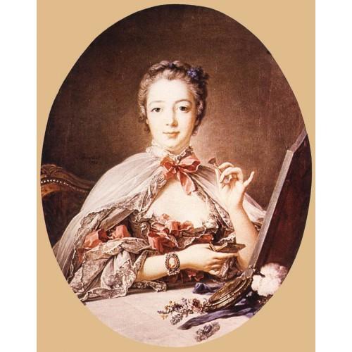 Marquise de Pompadour at the Toilet Table