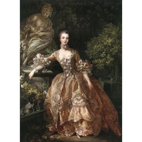Portrait of Marquise de Pompadour 1