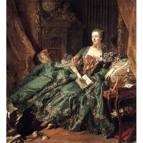 Portrait of Marquise de Pompadour 2