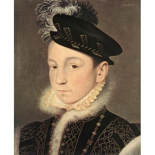 Portrait of King Charles IX of France
