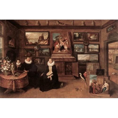 Sebastiaan Leerse in his Gallery