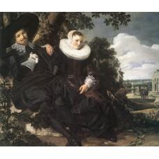 Married Couple in a Garden