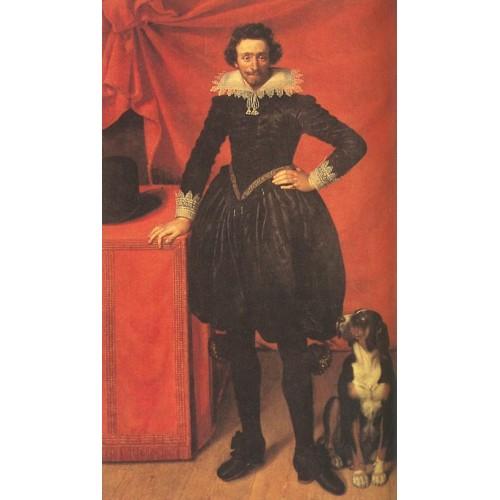 Portrait of Claude de Lorrain Prince of Chevreuse