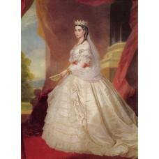 Portrait of charlotte of belgium 1