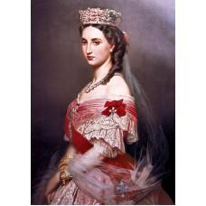 Portrait of charlotte of belgium