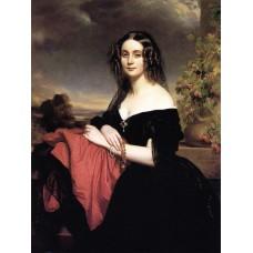Portrait of Claire de Bearn Duchess of Vallombrosa