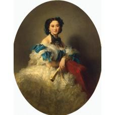 Portrait of countess varvara musina pushkina
