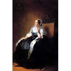 Portrait of eug nie empress of the french