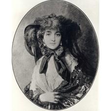 Portrait of katarzyna potocka n e branicka wife of adam potocki