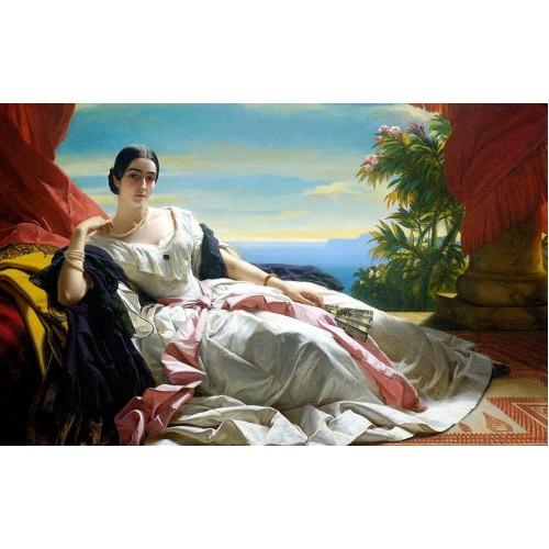 Portrait of leonilla princess of sayn wittgenstein