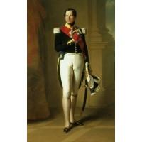 Portrait of leopold i of belgium