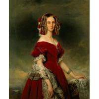 Portrait of louises von orl ans