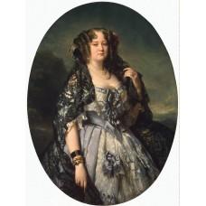 Portrait of sophia alexandrovna radziwi