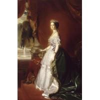 Portrait of the empress eug nie