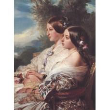 The cousins queen victoria and victoire duchesse de nemours