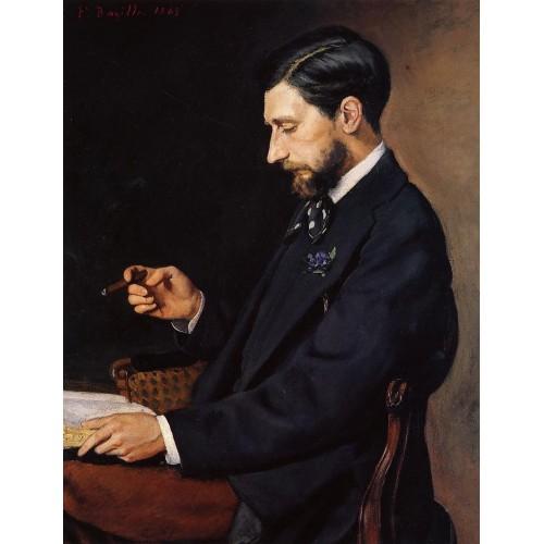 Portrait of Edmond Maitre