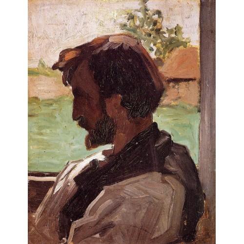 Self Portrait at Saint Sauveur