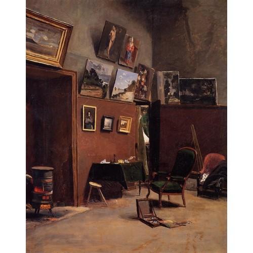 Studio on the Rue de Furstenberg