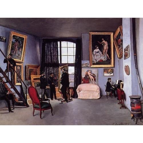 Studio on the Rue La Condamine