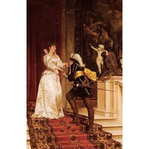 The Cavalier's Kiss