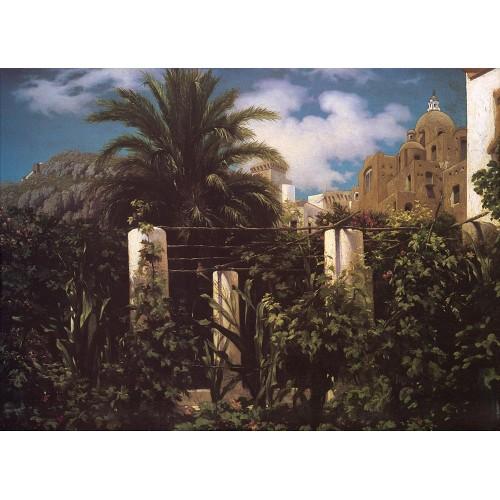 Garden of an Inn Capri