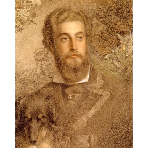 Portrait Of Cyril Flower Lord Battersea