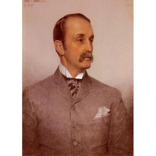 Portrait Of Josiah Caldwell