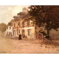 A Village Street In France