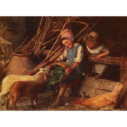 Feeding the Lambs