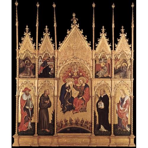 Coronation of the Virgin and Saints