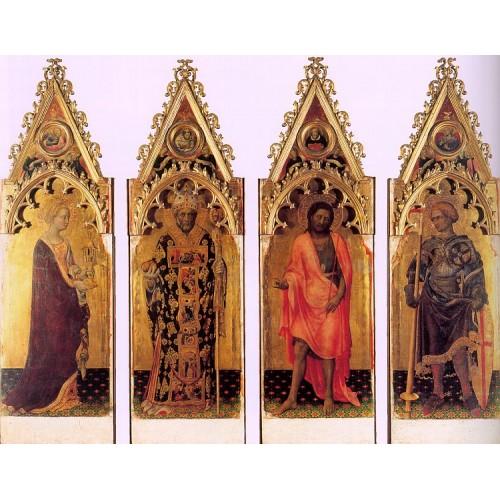 Four Saints of the Poliptych Quaratesi
