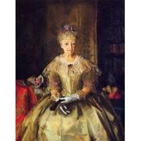 Mrs.T in Cream Silk