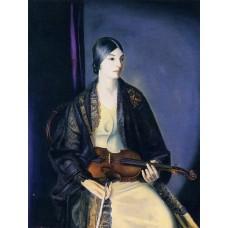 The Violinist Leila Kalman